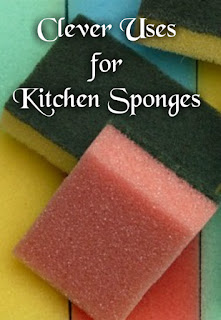 Clever Uses for Kitchen Sponges