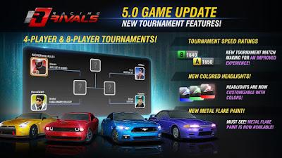 Racing Rivals Apk v5.0.1 Mod (Unlimited Turbo) -2