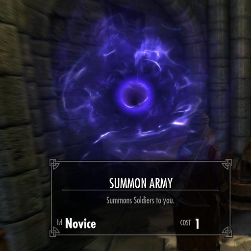 My Skyrim Mods: Summon or Banish an Army