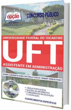 Apostila UFT 2018 Assistente em Administração
