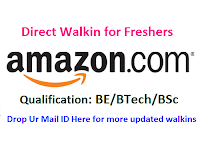 Amazon-walkin-for-freshers-chennai