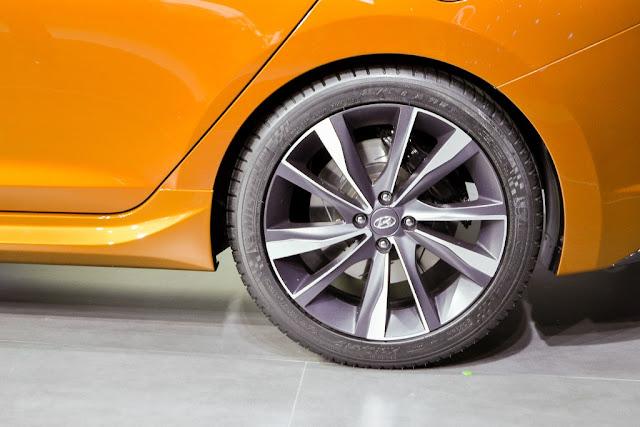 2017 Hyundai Verna rear tyre