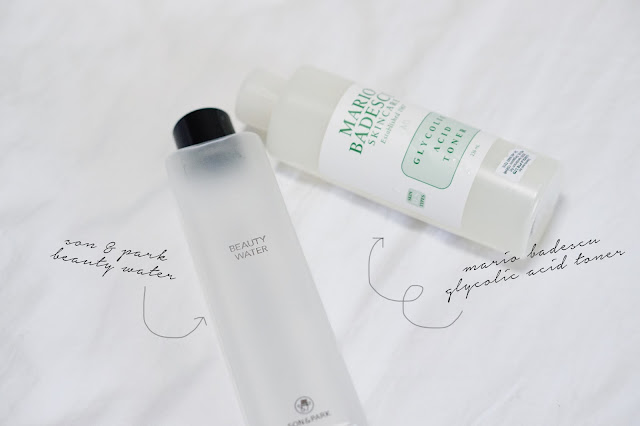 son and park beauty water mario badescu toner