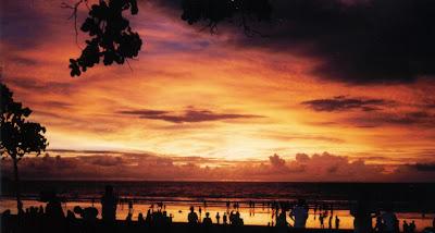 Pesona Keindahan Alam di Pantai Kuta di Bali