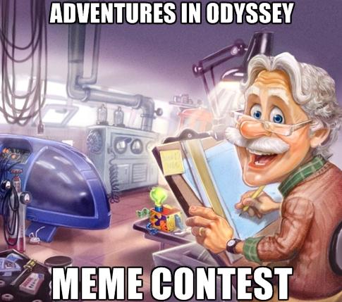 Aio Meme Contest The Adventures In Odyssey Blog