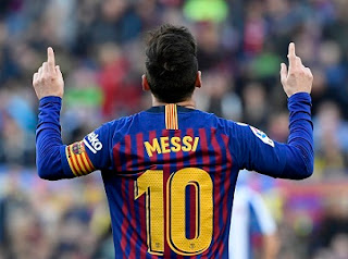 Barca wins Espanyol, Messi broke many records not by CR7.