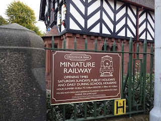 Grosvenor Park Miniature Railway in Chester