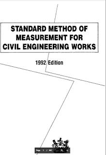 Download Standard Method of Measurement for Civil