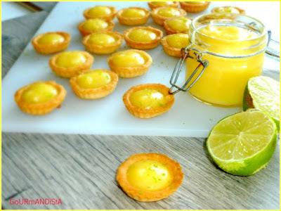 image Lemon curd au citron vert