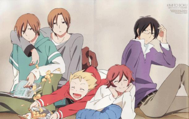 Kimi to Boku - Daftar Anime Buatan Studio J.C.Staff Terbaik