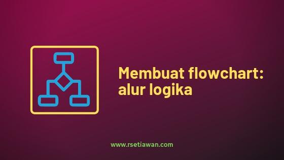 Membuat alur logika pemrograman: flowchart