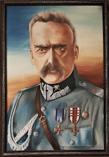 Józef Piłsudski - mal. Przemysław Ryniec