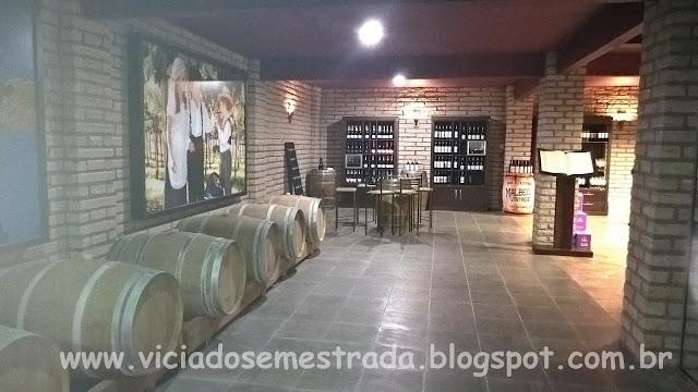 Vinícola Don Guerino, degustação e varejo, Alto Feliz, RS