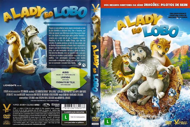 Capa DVD A LADY E O LOBO