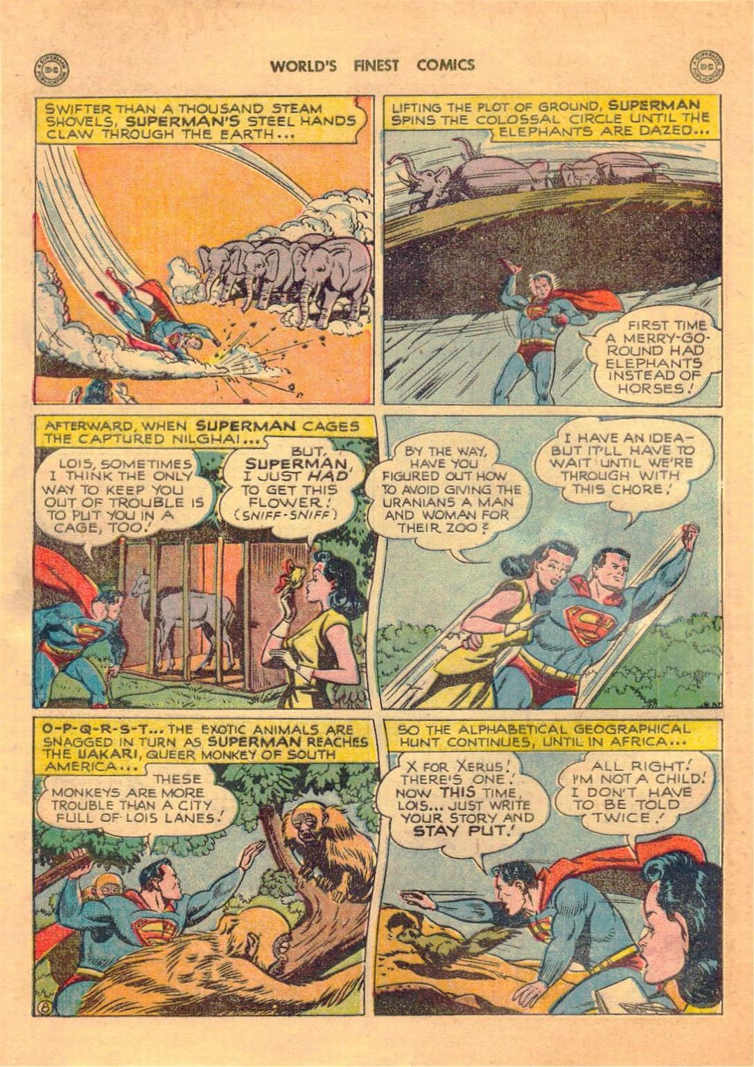 Read online World's Finest Comics comic -  Issue #42 - 10