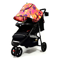 Stroller L'abeille A503 orange