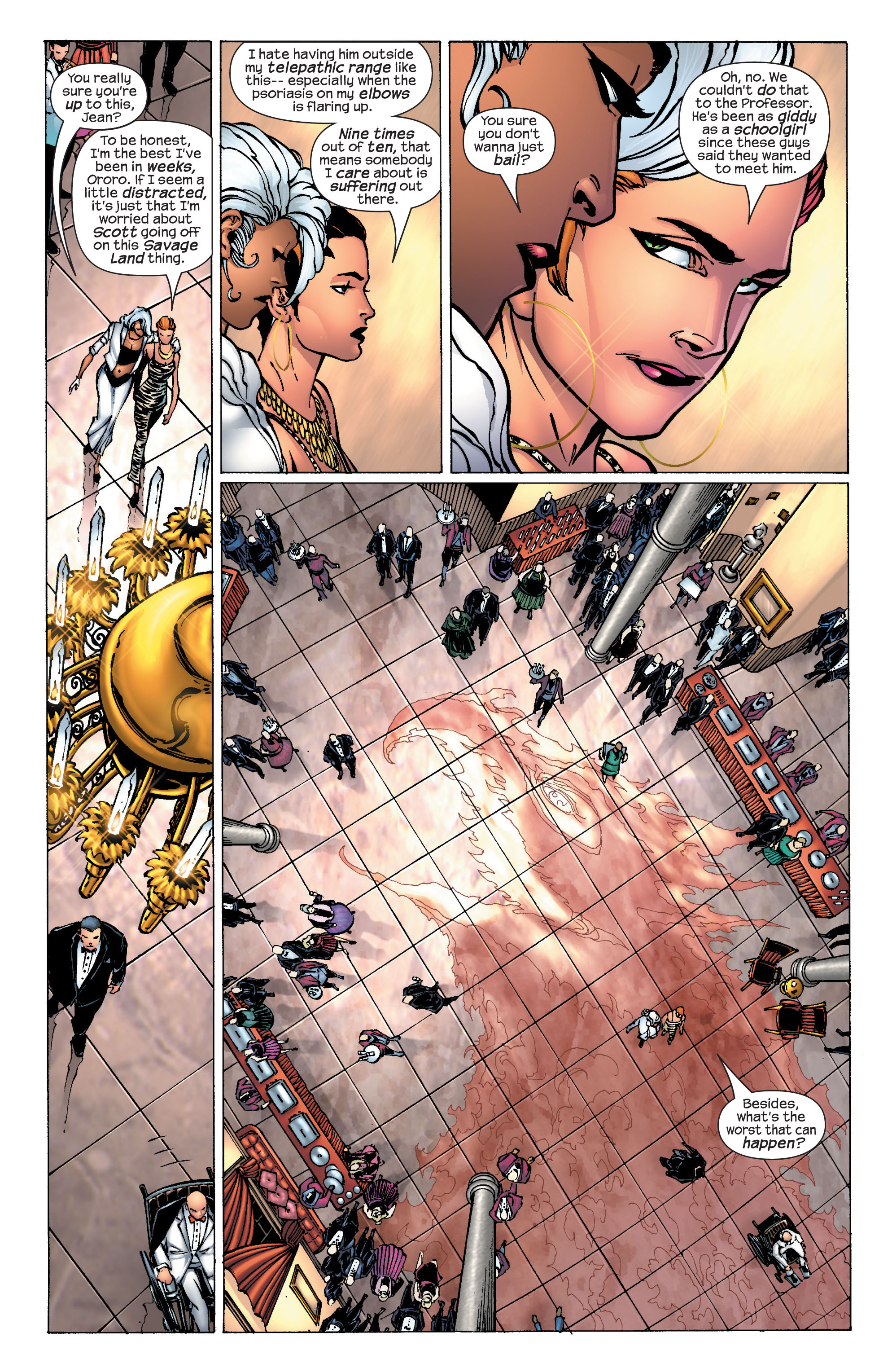Read online Ultimate X-Men comic -  Issue #25 - 6