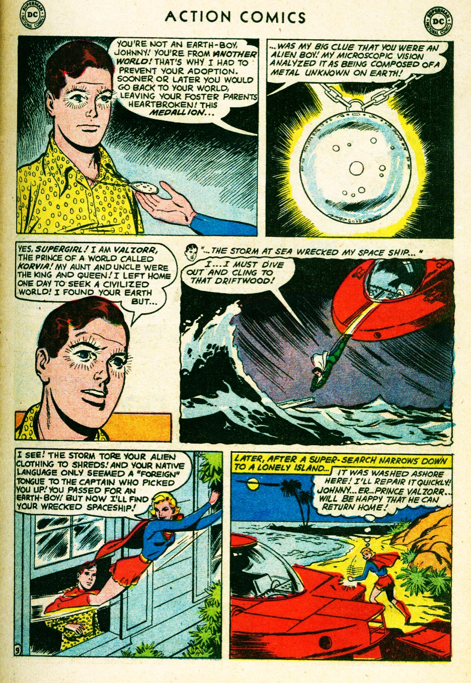 Read online Action Comics (1938) comic -  Issue #263 - 27