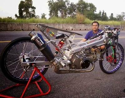 motor drag ninja 4 tak