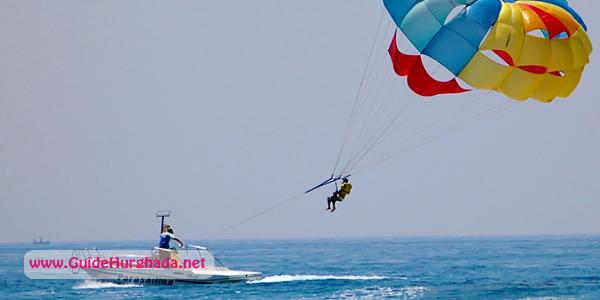 رحلة الباراشوت الغردقة , ركوب الباراسيلينج و الطيران فوق البحر الأحمر