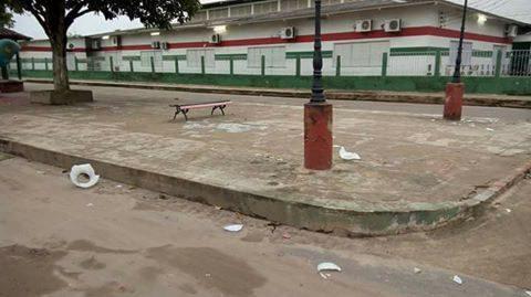 Em Tarauacá Policia Militar prende homens encapuzados flagrados quebrando lampadas de ruas e praças