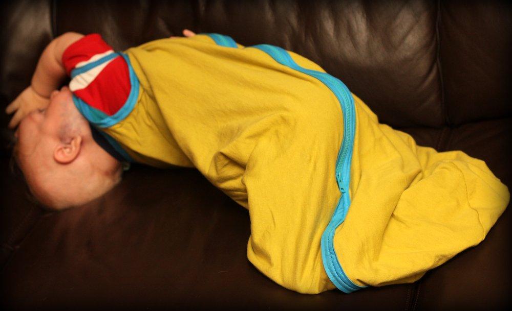 diy sleep sack tutorial for baby affording motherhood. Black Bedroom Furniture Sets. Home Design Ideas