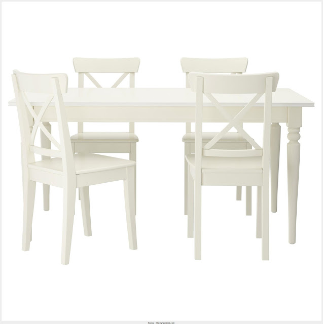 Nice White Table Set Wall Picture