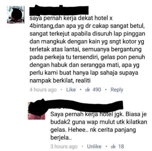 Bekas Pekerja Hotel Dedah 7 Perbuatan Jijik Yang Dilakukan Pekerja Hotel
