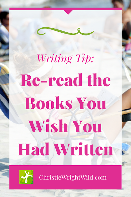 writing tips || reread the books you wish you had written | read for pleasure | improve your writing skills