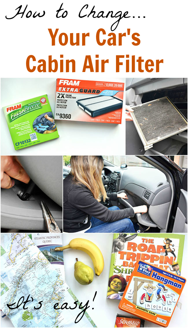 Your car's cabin air filter is a line of defence against dirt, dust and allergens! Change it once a year to keep your family safe and comfortable. Here's how... (it's easy)!