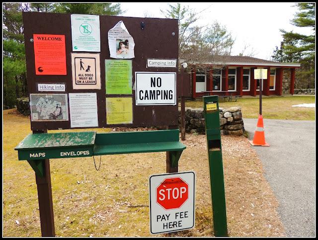 Mapas del Pawtuckaway State Park (NH)