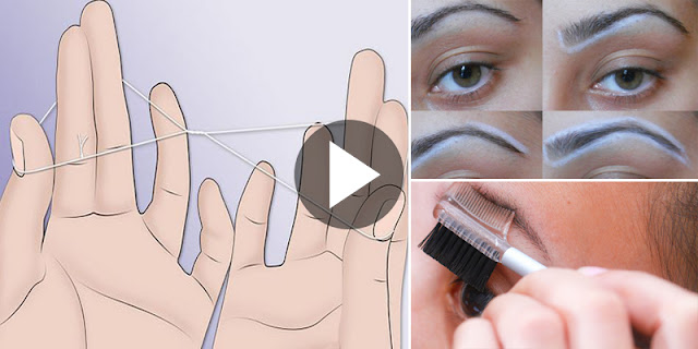 How To Perfect Shape Your Eyebrows With Threading!
