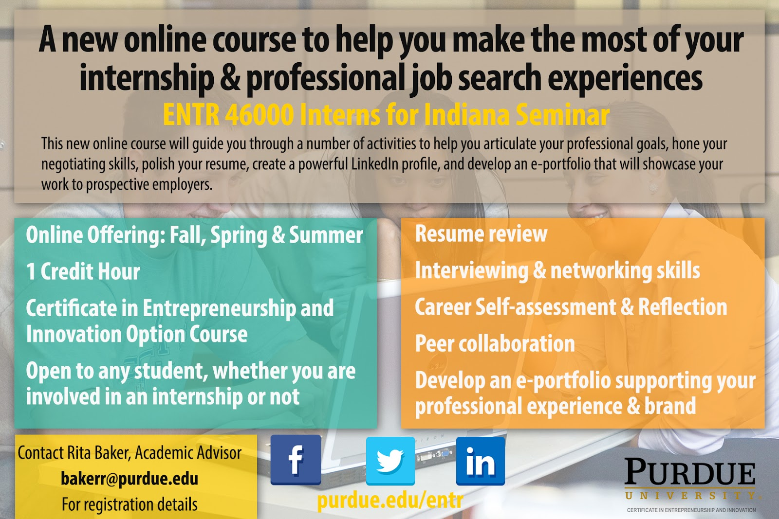 Entr 46000 Interns For Indiana Purdue Ie Undergrad News And Notes
