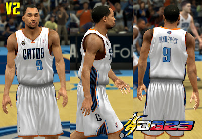 NBA 2K13 Charlotte Bobcats Fictional Latin Nights Jersey