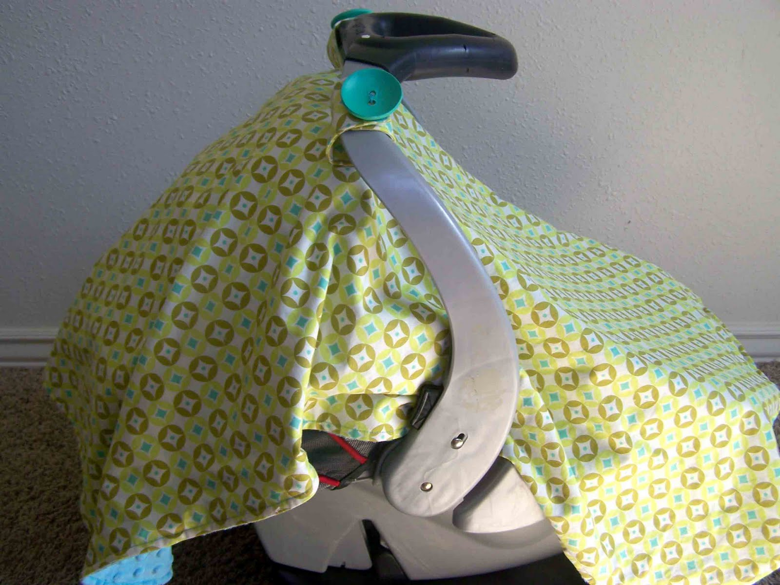 Made By Me. Shared With You.: Infant Car Seat Canopy