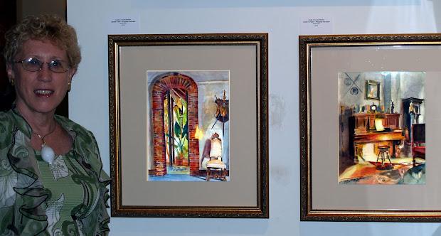 Saint Louis Watercolor Society Linda Green Metzler Art