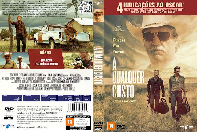Capa DVD A Qualquer Custo [Custom]
