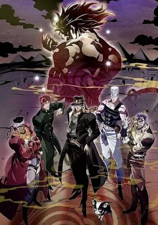 تقرير انمي JoJo no Kimyou na Bouken: Stardust Crusaders s2 (الموسم الثاني، الجزء الثاني)