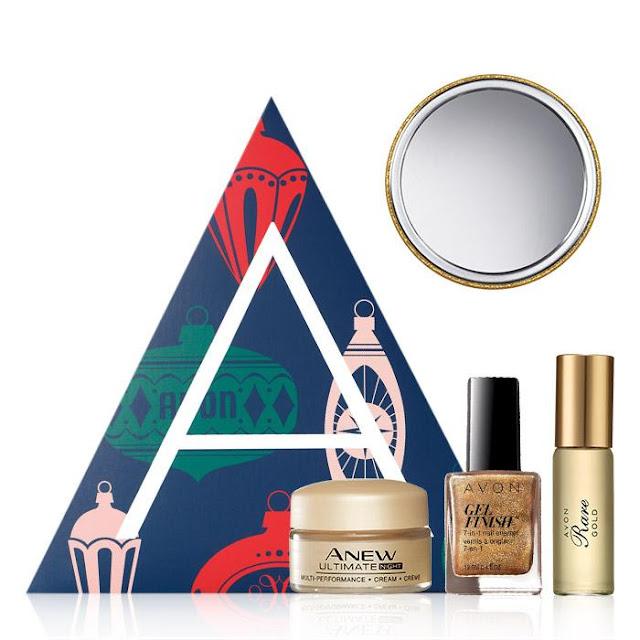 Avon A Box Campaign 25 2018 Gilded Glamour- Only $10 with $40 purchase. #Avon #AvonABox #Avondeal #AvonDealoftheDay #DealoftheDay #makeupdeals