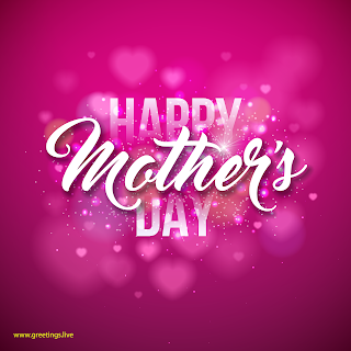 happy mothers day creative sparkling greetings