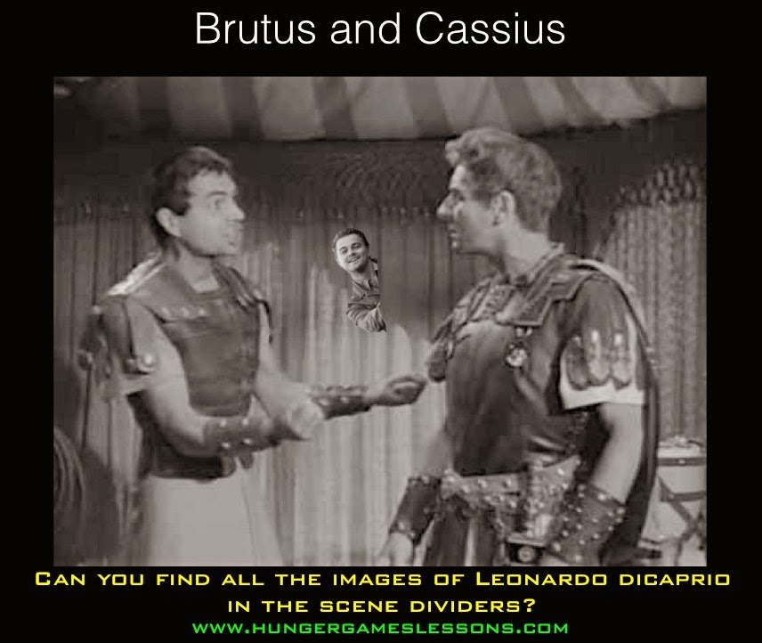 Leonardo DiCaprio appears in The Tragedy of Julius Caesar (in Memes)