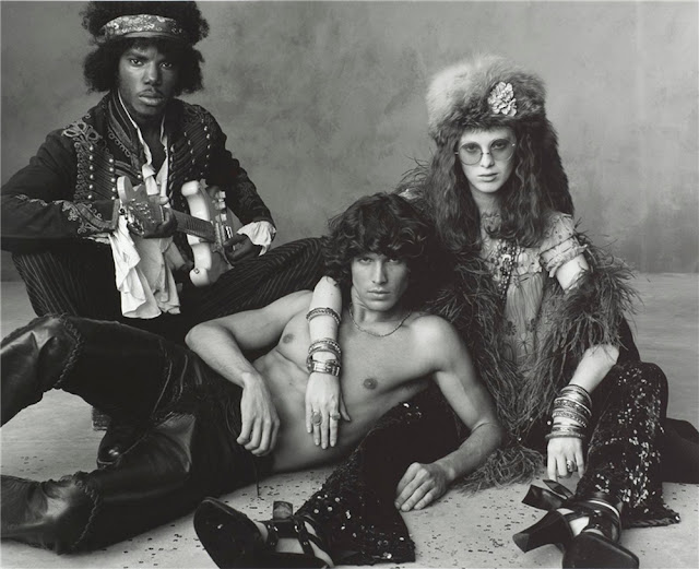 """""""Rock The House"""" by Steven Meisel: Extraordinary Photos of Various Models as Great Rock Icons"""