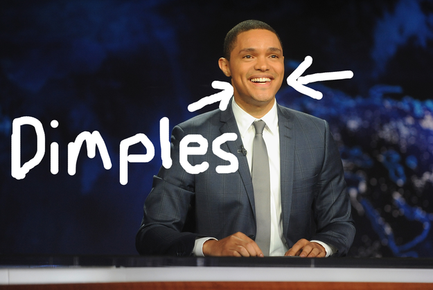 Trevor Noah and his dimples