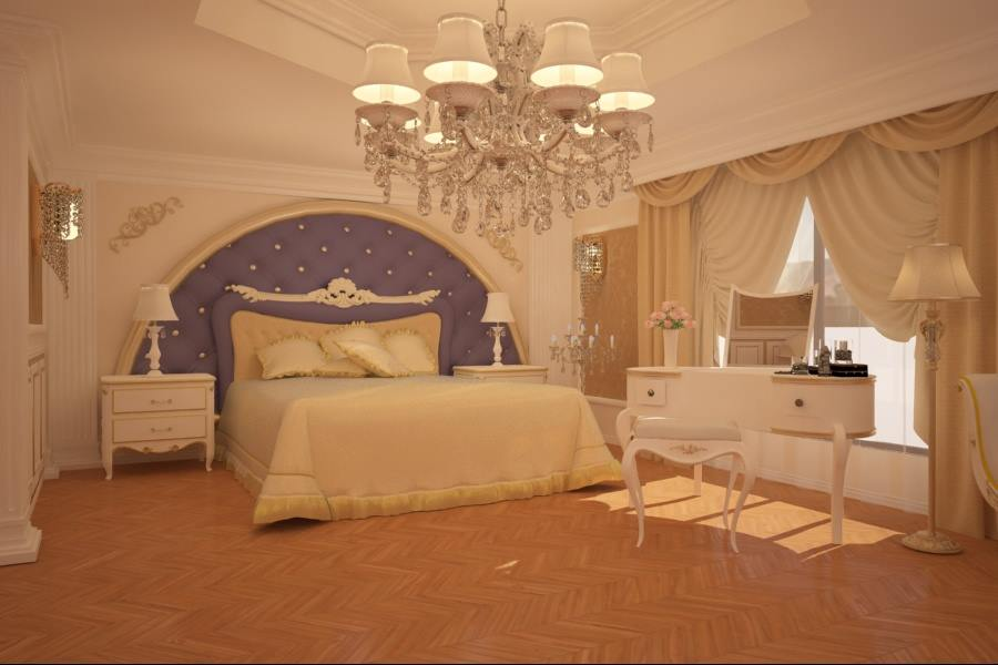 Amenajari interioare Bucuresti | Design interior dormitor clasic casa Bucuresti.