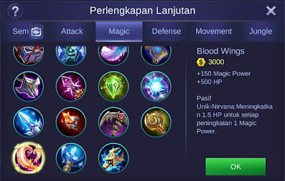 Build Item Guinevere Mobile Legends Paling Sakit