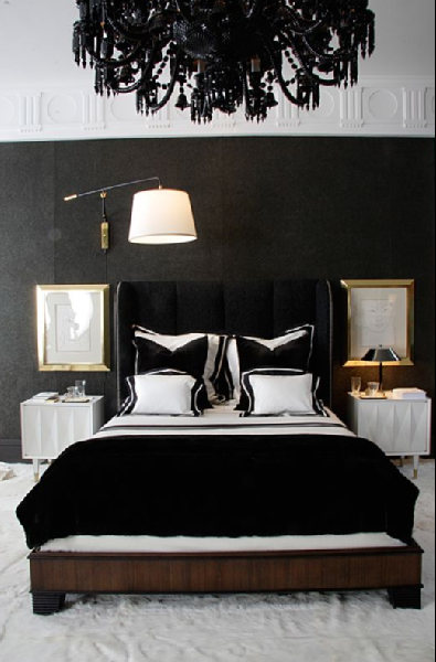 Black&white bedroom part1