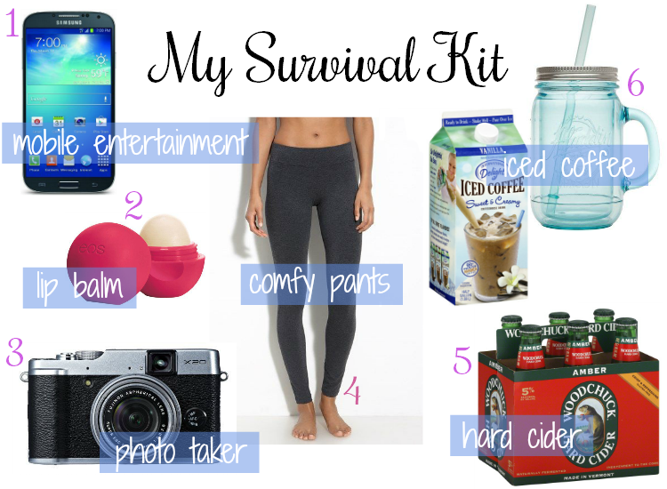 Sweet Turtle Soup: My Survival Kit Must Haves