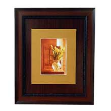 Tulip Flower Vase Brown Wall Frame Nigeria