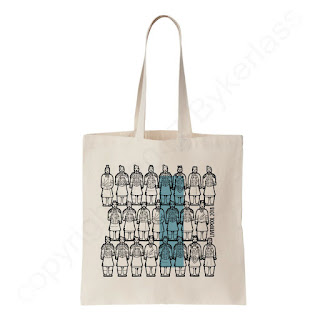 Terracotta Warriors World Museum 2018 Liverpool Merchandise by Wotmalike Ltd