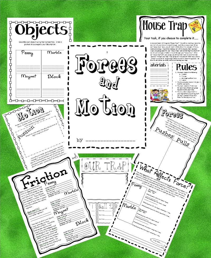 force and motion for kids worksheets. Black Bedroom Furniture Sets. Home Design Ideas